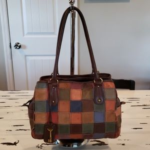 FOSSIL Keyper 1954 Patchwork Leather Purse